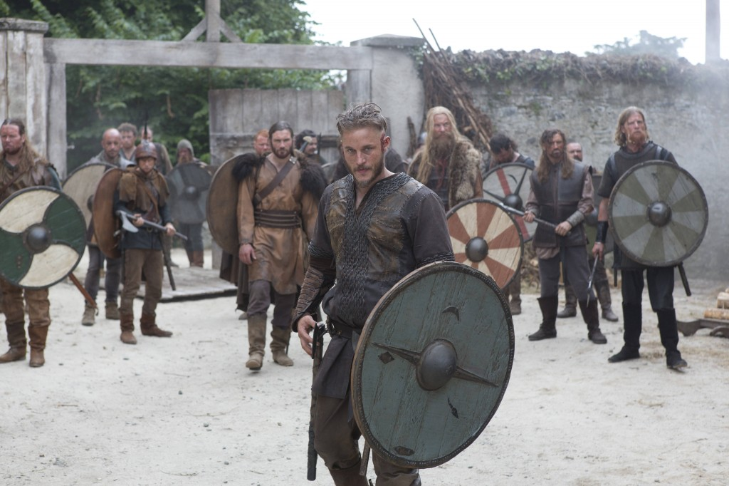 Stop me if you've heard this one before: a crew of vikings walks into a monastery... (History Channel)